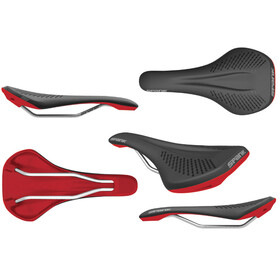 Spank Oozy Saddle black/red